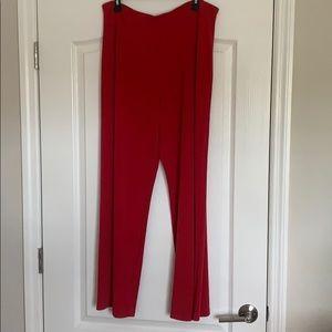 Misses/ladies Alfani red slacks